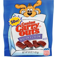Canine Carry Outs Bacon Flavor Dog Snacks, 50 Oz.
