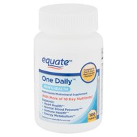 Equate One Daily Men's Health Tablets, 100 Count
