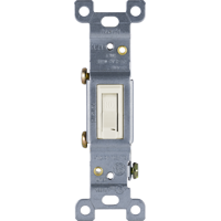 GE UltraPro Heavy-Duty In-Wall 3-Way 20 Amp Toggle Switch, 42480