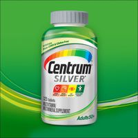 Centrum Silver Adults 50+ Multivitamin Tablets, 325 ct
