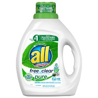 All Free Clear Pure HE Liquid Laundry Detergent - 88oz