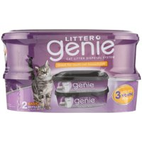 Litter Genie Cat Litter Disposal System Basic Refill, 2 Count