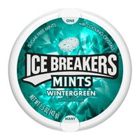 Ice Breakers Sugar Free Mints In Wintergreen