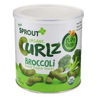 Sprout Baked Toddler Snack, Organic, Broccoli