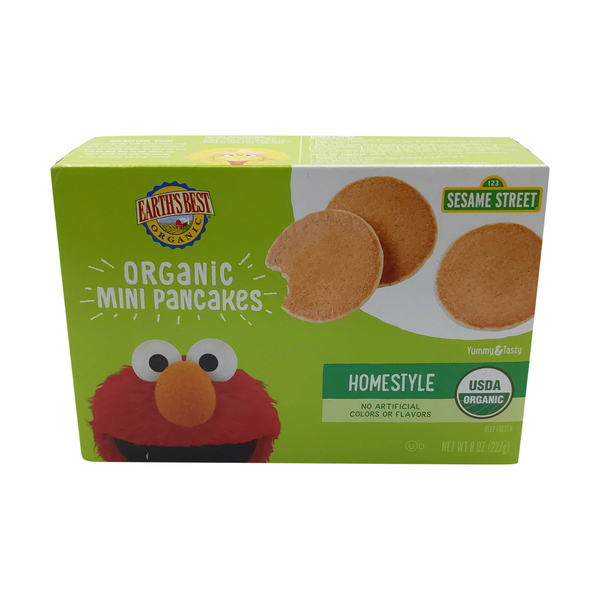 Earth's best Organic Homestyle Mini Pancakes, 8 oz