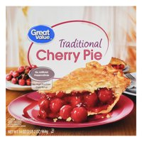Great Value Traditional Cherry Pie, 34 oz