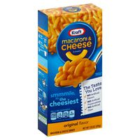 Kraft Original Flavor Macaroni & Cheese Dinner