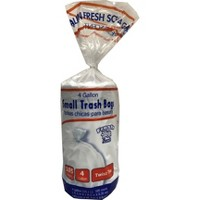 Twist Tie Fresh Scented Small Trash Bags - 4 Gallon - 105ct - Up&Up™