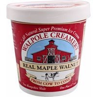 Walpole Creamery Ice Cream, Real Maple Walnut