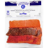 Latitude 45 Smoke Roasted Atlantic Salmon Trio Pack 12 oz