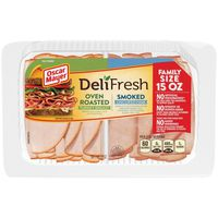 Oscar Mayer Deli Fresh Oven Roasted Turkey Breast & Smoked Uncured Ham