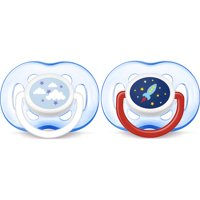 Philips Avent Freeflow Pacifier, 18+ months, Blue, 2 pack, SCF186/27