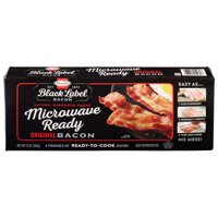 Hormel Black Label Microwave Ready Bacon, 12 Oz.