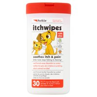 Petkin Itchwipes, 30 count