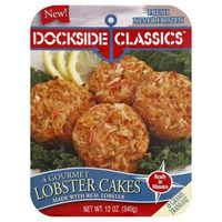 Dockside Classics Classics Lobster Cakes - 4 CT