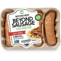 Beyond Meat Plant-Based Hot Italian Sausage - 4pk/14oz