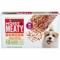Purina Dry Dog Food, Burger with Cheddar Cheese Flavor