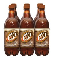 A&W Root Beer - 6pk/0.5 L Bottles