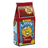 Lion Coffee 100% Kona Medium Roast Whole Bean Coffee - 7oz