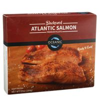 Oceanic Blackened Atlantic Salmon Portions