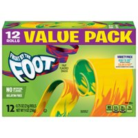 Fruit by the Foot Fruit Snacks, Variety Pack, 9 oz
