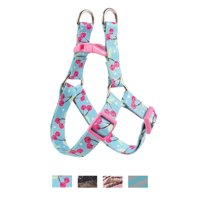 Vibrant Life Patterned Step-In Dog Harness, Cherry, 8-14 in