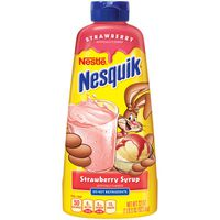 Nestle Nesquik Strawberry Flavored Syrup