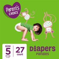 Parent's Choice Diapers, Size 5, 27 Diapers