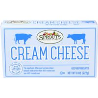 Sprouts Cream Cheese