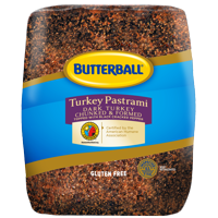 Butterball Turkey Pastrami Deli Meat