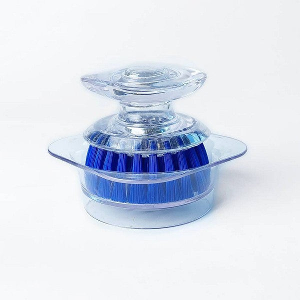 Bright Box Mini Scrubber Brush Dish - Blue