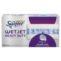 Swiffer WetJet Heavy Duty Mopping Pads Refill, 20 count