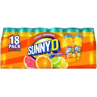 Sunny D Tangy Original Orange Flavored Citrus Punch, 6.75 Fl. Oz., 18 Count