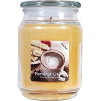 Mainstays Hazelnut Cream Single-Wick 20 oz. Jar Candle
