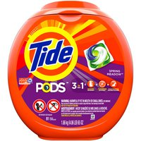 Tide Liquid Laundry Detergent Pacs, Spring Meadow
