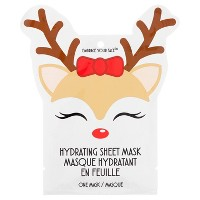 Jean Pierre Hydrating Reindeer Holiday Face Mask - 1ct