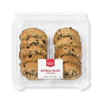 Oatmeal Raisin Cookies And Bars - 10ct - Market Pantry™