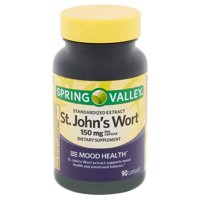 Spring Valley Standardized Extract St. John's Wort Capsules, 150 mg, 90 count