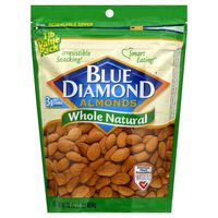 Blue Diamond Almonds, Whole Natural, Value Pack