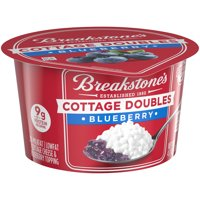 Breakstone's Cottage Doubles Blueberry Cottage Cheese, 4.7 oz Cup