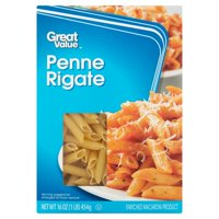 Great Value Penne Rigate, 16 oz