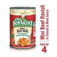 Chef Boyardee Mini Ravioli 15 oz 4 Pack