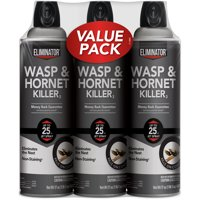 Eliminator Wasp and Hornet Killer, 17 Ounce, 3 Pack