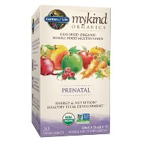 Garden of Life My Kind Organic Vegan Prenatal Daily Multivitamin Tablets - 30ct