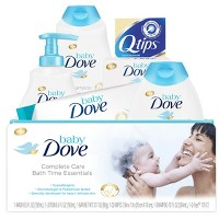 Baby Dove Complete Care Bath Time Essentials Gift Set