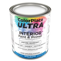 Color Place Ultra Semi-Gloss Interior Paint & Primer Accent Base 1-Qt