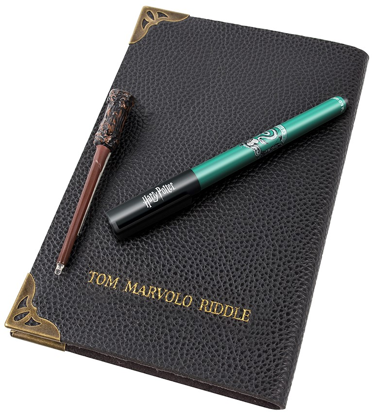 Tom Riddle's Diary Notebook, with Pen & Torch Light Wand (Harry Potter- Wizarding World)