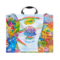 Crayola Uni-Creatures Mini Art Case With 100+ Pieces