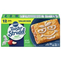 Pillsbury Toaster Strudel Apple Toaster Pastries Value Size 23.4 oz