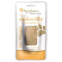 Applaws Whole Chicken Fillet With Goji Berry Natural Cat Treat